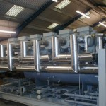 304 BA Stainless Steel installation. Image courtesy of Global Thermal Services Ltd.