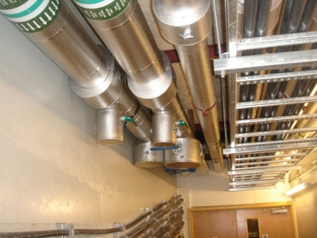 Aluzinc Installation. Image courtesy of City Insulation Contractors Ltd.