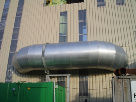 Aluzinc Installation. Image courtesy of Consolidated Insulation Services.