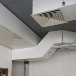White Painted Aluminium Installation. Image courtesy of Denco Thermal Ltd.
